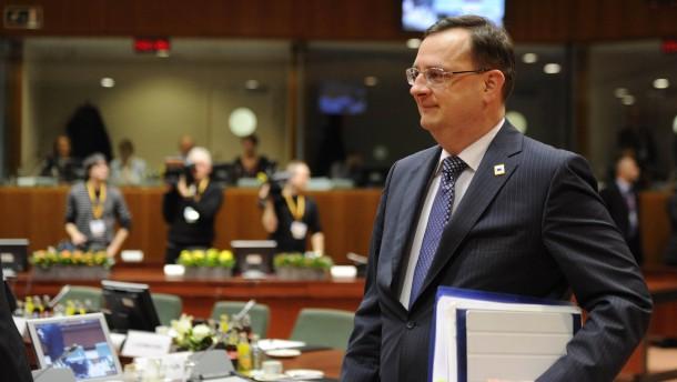 Tschechische Regierung streitet über Fiskalpakt