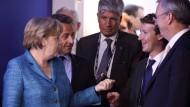 Zuckerberg gibt Merkel ein Versprechen