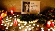 Malta trauert um eine kritische Stimme