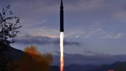 Nordkorea will neu entwickelte Hyperschallrakete getestet haben