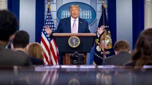 Trump verspricht Amerikanern 100 Millionen Dosen