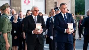 Steinmeier bittet Polen um Vergebung