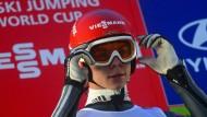 Skispringer Andreas Wellinger will wieder ganz nach oben.