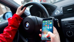 Parken mit dem Smartphone