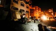 """Israel tötet den Anführer des """"Islamischen Dschihad"""" bei einem Angriff auf ein Haus im Gazastreifen."""