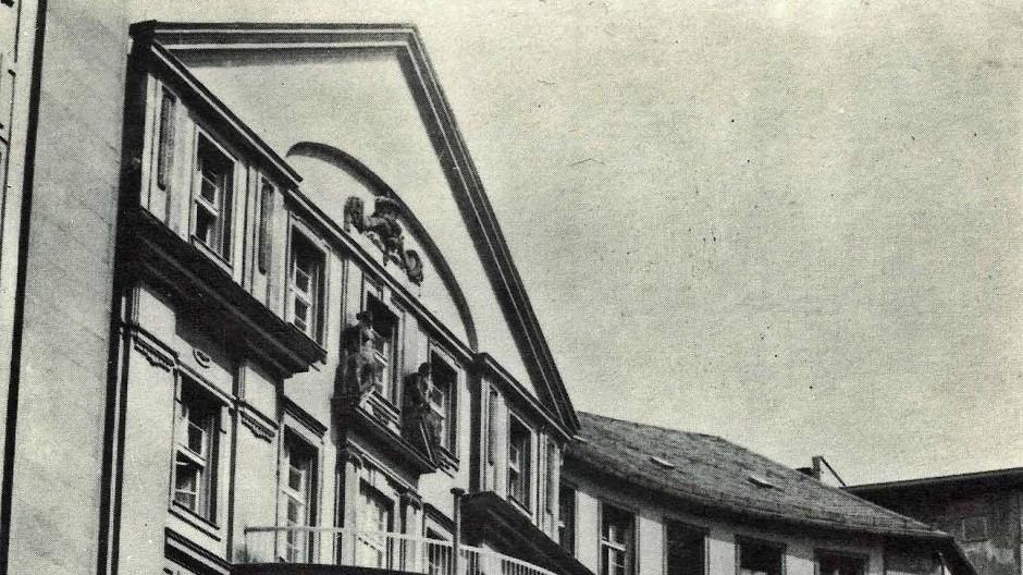 Gerichtsgebäude B: Der Sitz des Oberlandesgerichts von 1917 bis 1971