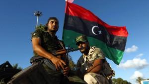 Libyen fordert internationale Schutztruppe