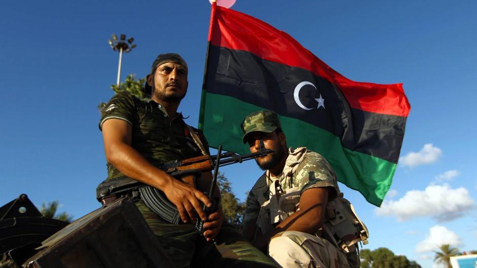 Truppen des abtrünnigen Generals Haftar in Libyen
