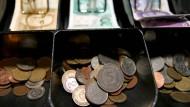 Der Wechselkurs seit dem Jahreswechsel 2001/2002 immer gleich geblieben: 1,95583 Mark entsprechen einem Euro.