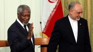 Teheran beharrt auf Unterstützung Assads