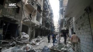 Assad bereitet offenbar Gegenschlag in Aleppo vor