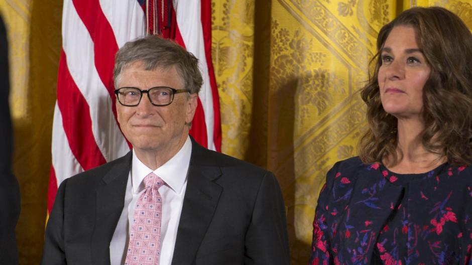 Gehen künftig getrennte Wege: Bill und Melinda Gates (Archivbild)