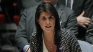 Die amerikanische UN-Botschafterin Nikki Haley