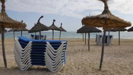 Die leeren Strände von Mallorca