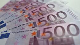 Noch viele 500-Euro-Scheine im Umlauf
