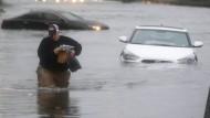Starke Überschwemmungen in Texas