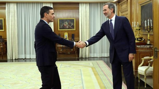 Sánchez spricht auch mit Rechtspopulisten