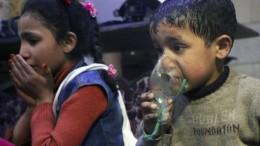 Dutzende Tote bei mutmaßlichem Giftgasangriff