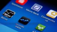 Viele Banken-Apps enttäuschen