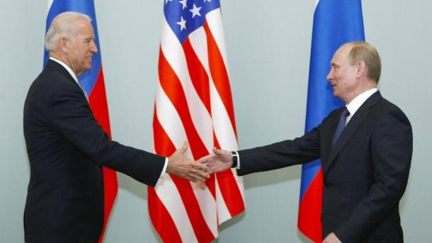 Biden und Putin treffen sich in Genf