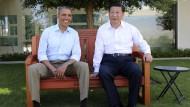 Treffen diente Kennenlernen nach Amtsantritt Xis