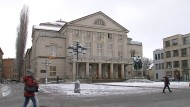 Deutsches Nationaltheater in Weimar –Tagungsort der Nationalversammlung 1919.