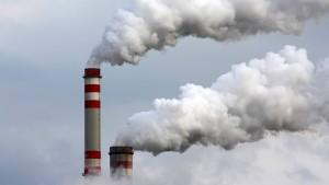 Der CO2-Ausstoß wird billig