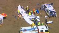 Leichtflugzeug in Australien abgestützt