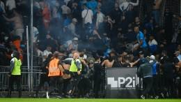 Abermals Fan-Ausschreitungen in Frankreich
