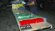Drogendealer mit 1,1 Millionen Dolllar im Ersatzreifen