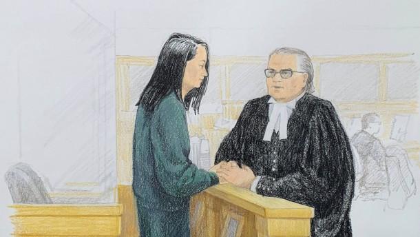 Ehemann der Huawei-Finanzchefin bietet millionenschwere Kaution
