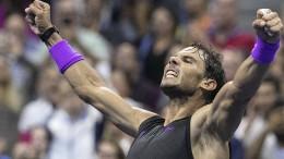 Die eindrucksvolle Show des Rafael Nadal