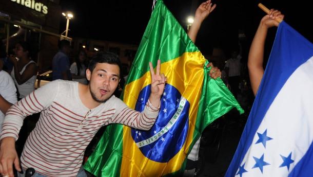 Honduras darf nach Brasilien, Mexiko in die Relegation