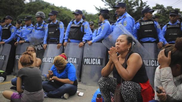 Honduras wirft Aktivisten Destabilisierung vor