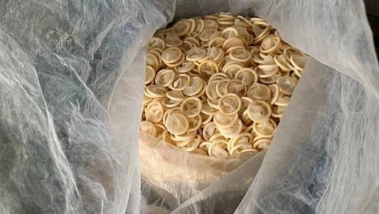 Das Geschäft mit gebrauchten Kondomen
