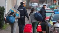 Abgelehnte Asylbewerber in Leipzig
