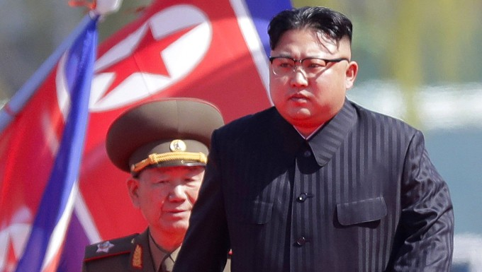 Kim Jong-un in Pjöngjang bei einem offiziellen Termin vergangenes Jahr.