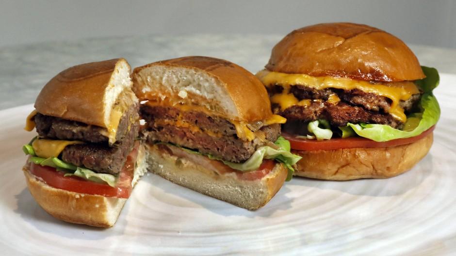 Sieht aus wie ein Burger, soll aber keiner sein: vegetarische Patties.