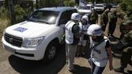 OSZE: Lage in der Ukraine hat sich deutlich verschlechtert
