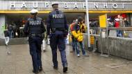 Mehr Streifengänge: In München zeigt die Polizei dauerhaft Präsenz.
