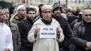 Muslime verurteilen den Terror