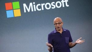 Microsoft setzt sich Klimaziele