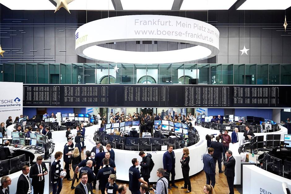 Das digitale Zeitalter läutete die Frankfurter Börse im Jahr 1969 ein.