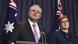 Australien erkennt West-Jerusalem als israelische Hauptstadt an