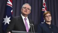 Der australische Premierminister Scott Morrison