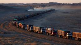 Mega-Stau in der Mongolei