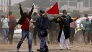 Proteste gegen Ausländer in Südafrika