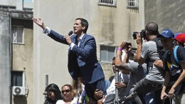 """""""Lasst die humanitäre Hilfe nach Venezuela"""""""