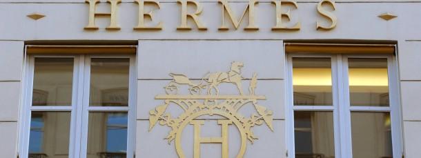Hermes - eine der Luxusmarken die sich nur wenige leisten können