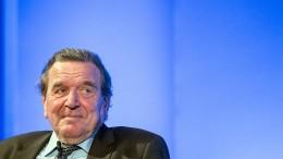 Schröder erwartet Neuwahlen 2019